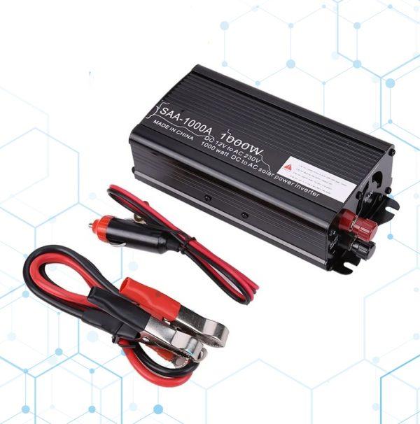 Adaptador Inversor De Voltaje 12v A 230v Ac 1000w_1