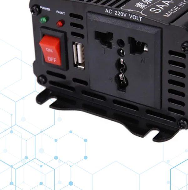 Adaptador Inversor De Voltaje 12v A 230v Ac 1000w_1234