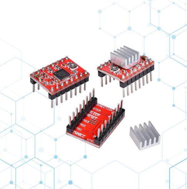 Arduino 1 R3 + Shield Cnc V3 + 3 Driver A4988 + Cable Usb_1234