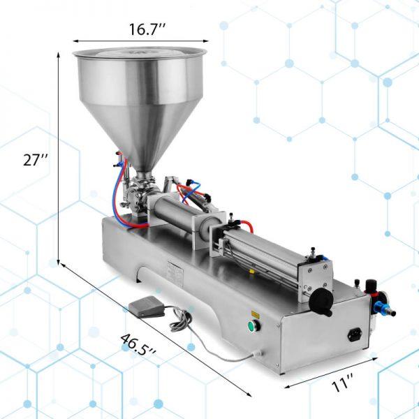 Llenadora Neumatica De Liquidos Pastosos 100-1000ml_12