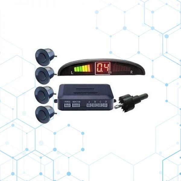 Sensor De Retro Parqueo Color Gris