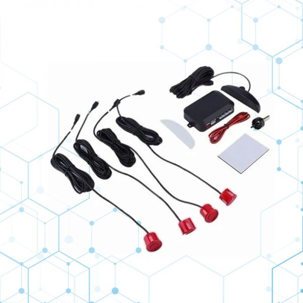 Sensor De Retro Parqueo Color Rojo