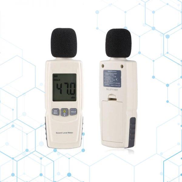 Sonometro Digital Medidor De Sonido Decibeles 30 – 130 Db