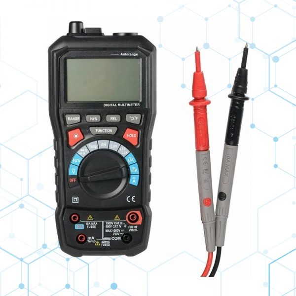 Sonometro Luxometro Termometro Higrometro Multimetro