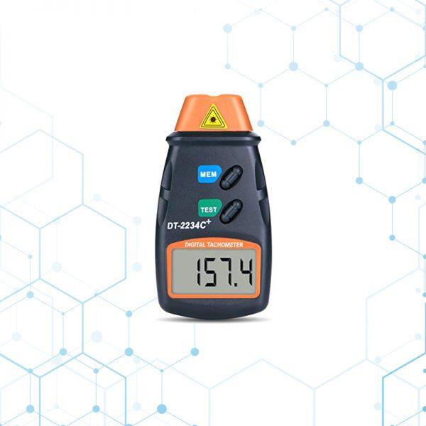 Tacometro Digital Portatil Laser Rpm Motor