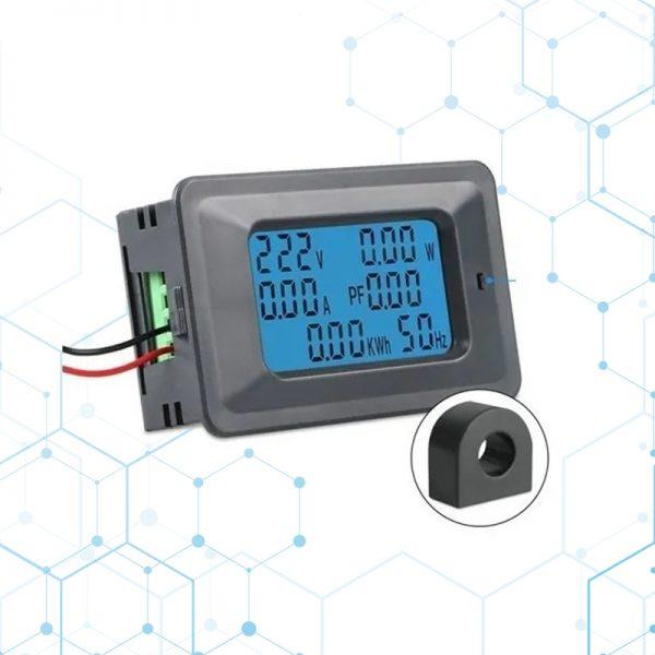 Voltimetro Amperimetro Vatimetro Ac 110-265v 0-100a Display